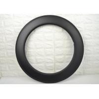 All - Around Riding Carbon Tubular Rims , Carbon Fiber 700c Rims 16 To 36 Spoke Holes