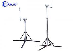 CCTV Camera Telescopic Mast Pole Protection Kit Systems