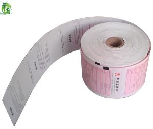 China Thermal atm paper bank receipt paper rolls 80mm on sale