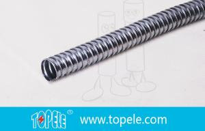 China Flexible Conduit And Fittings Galvanized Steel Flexible Electrical Conduit on sale