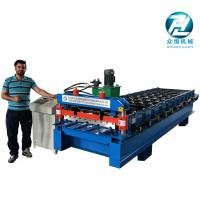 Automatic Aluminum Cold Roll Forming Machine 4KW 10 Meters/Min