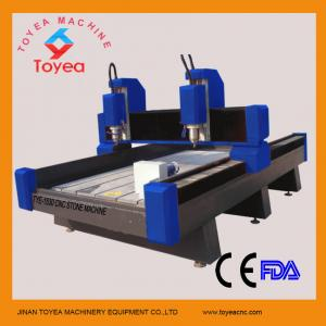 China Artificial stone cnc router machine with two heads TYE-1530-2 on sale
