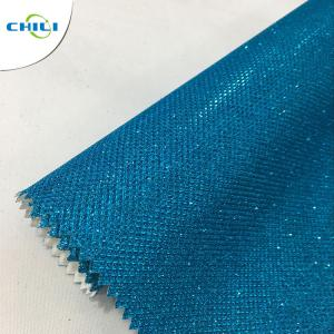 China New zarina glitter leather fabric for shoes and bags on sale
