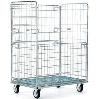 Good price folding wheel 4 sided roll cages