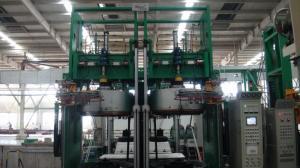 China 出版物3800KNの加硫の出版物機械を治すPLC制御油圧タイヤ on sale