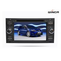 Car Ford GPS Navigation DVD Player 7 Inch Ford Focus Navigation System