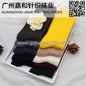 China Fashionable Over Knee Women Wool Socks on sale