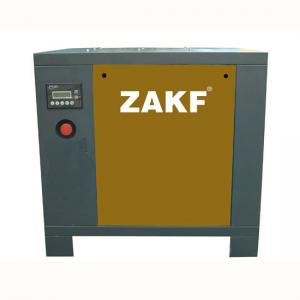 China 7.5 KW Belt 10HP Rotary Screw Air Compressor With Air cooling on sale