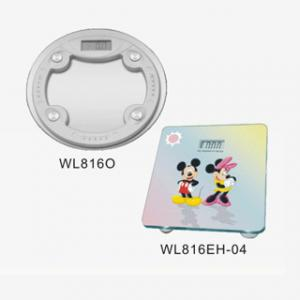 China Custom 180kg / 396lb Steel Sheets Glass Digital Bathroom Scale WL816O, WL816E-04 on sale