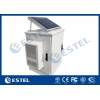 China Solar Outdoor Electrical Cabinets And Enclosure Floor Standing Weatherproof IP65 on sale