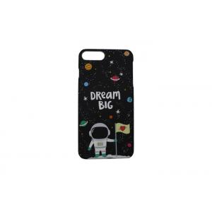 China Space Traveler Black Iphone 7 Cover Case Protective Accurate Hole Design on sale
