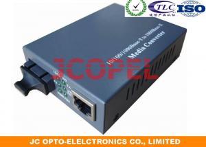 China Fast Ethernet Managed Media Converter SC Dual Fiber 156×128×32 mm 85VAC - 265VAC on sale