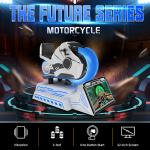 VR Project 9D VR Motorcycle Racing Cockpit Driving Simulator 360 Degree Racing Machine