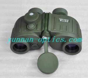 China MIL-STD rangefinder binocular (with compass) 8X30 on sale
