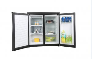 China Side By Side Refrigerator And Freezer Built - In Design , White Double Door Fridge on sale