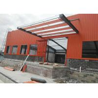 Economical Water Proofing Prefabricated Workshop Buildings Fast Assemble Metal