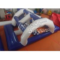 Kids Floating Inflatable Bridge Water Game CE AU For Water Inflatables Rentals