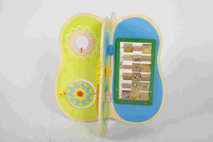 China Preschool Educational DIY Toddler Wooden Toys With Harmless Hardwood / Plywood on sale