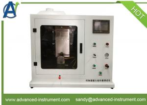 China NFPA 701 Fire Tests for Flame Propagation of Textiles and Films Apparatus on sale
