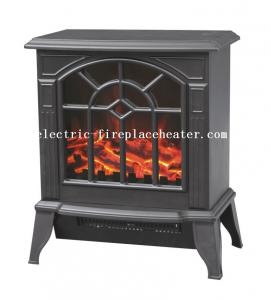 China Modern Duraflame European Electric Fireplace Stove Real Wood Fire Effect on sale