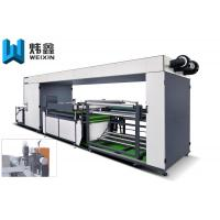 Touch Screen Non Woven Screen Printing Machine / Automatic Screen Printing Press