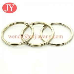 China jiayang aperture split rings / flat split ring / ripple split ring on sale