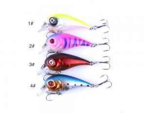 China Hard bait Crankbait 5cm 5g fishing lure popular in America Europe(My Skype/Whatsapp: +8615755390215) on sale
