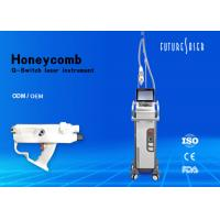 1064nm 532nm  Laser Tattoo Removal Equipment Air And Water Cooling