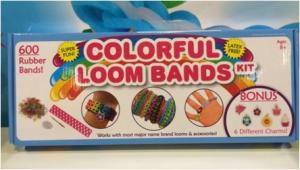 China Colorful DIY Loom Bands kit on sale