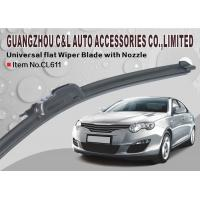 No Exposed Metal auto 22 inch wiper blades For Renault Master With Pip Of Water