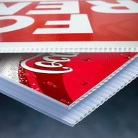 China weather proof 3mm 4mm 5mm Corrugated Plastic Signs For Advertisement on sale