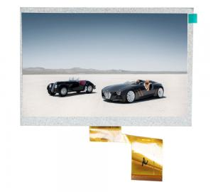China small car tft lcd monitor 7 inches , car rearview lcd monitor CPT 60 PIN 800 * 480 on sale