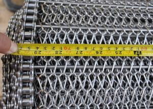China Banda transportadora de la malla de alambre de la balanza para el horno de recocido, a prueba de calor on sale