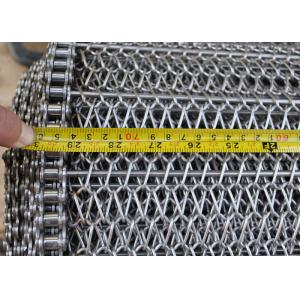 China Balance Wire Mesh Conveyor Belt For Annealing Furnace , Heat Resistant on sale