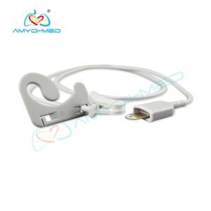 China Hot Sale Reusable Spo2 Sensor for Adult Ear Clip 6pin on sale
