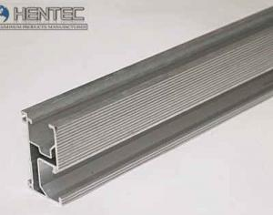 China Solar Rail / solar panel roof mounting hardware Polished	 , Silver Anodizing on sale