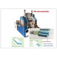 Embossing Laminated Paper Towel Making Machine , Two Fold Towel Printing Machine