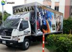 Columbia Professional Mobile 5D Cinema Experience , Exiciting Car Cinema With Special Effects