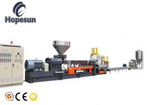 China Dual Screw Plastic Extrusion Line Stable Running Higher Output Simple Operation on sale