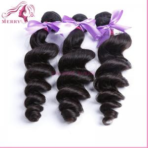 China 3pcs best selling go feedback 100% virgin huam hair can be dyed loose wave human hair extension on sale