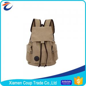 China Leisure Teen Trail Hiking Backpack Canvas Fashion Backpack Easy Wash on sale