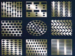 China Hoja de metal perforada con poco carbono del acero inoxidable del alambre de acero on sale