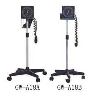 China Parquetez le stéthoscope vertical de moniteur de tension artérielle de support, sphygmomanometer anéroïde on sale