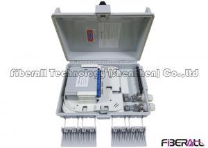China LGX 1x16 Optical Fiber PLC Splitter Installed In Sealed Outdoor FDB Box SC/UPC on sale