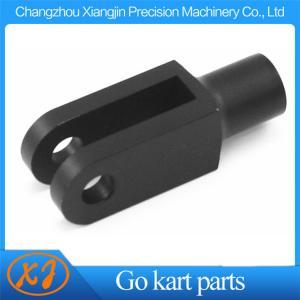 China CNC Machined Aluminum Billet 6061 T6 Go Kart Brake Clevis Go Kart Pedal Linkage on sale