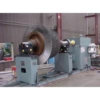 Semi-automatic wheel balancer machine