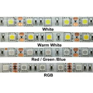 China 24W 12v RGB 5050 SMD LED Strip Lights IP68 Waterproof Outdoor LED Lighting on sale