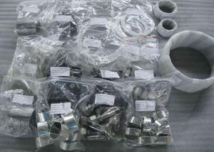 China Forged Ball Valve Body Cap Stem Bearing Plate Non Assembled Trunnion on sale