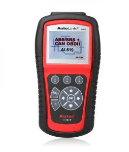 China Autel Diagnostic Tool Original Autel Autolink AL619 ABS/SRS + CAN OBDII Scan Tool on sale