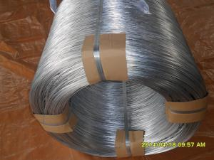 China 21# hot dip galvanized steel wire on sale